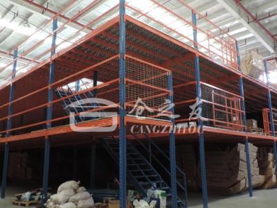 三层阁楼平台货架