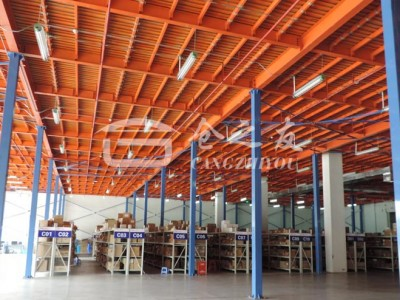 整体厨房电器行业-钢结构平台