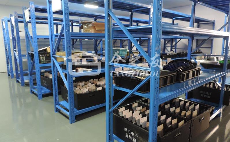 电子器件行业-轻型货架