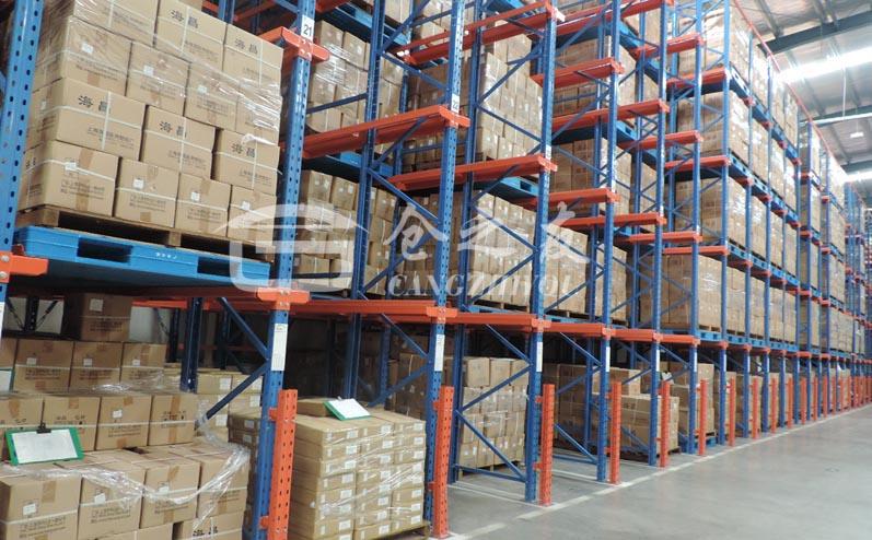制药企业-通廊式货架