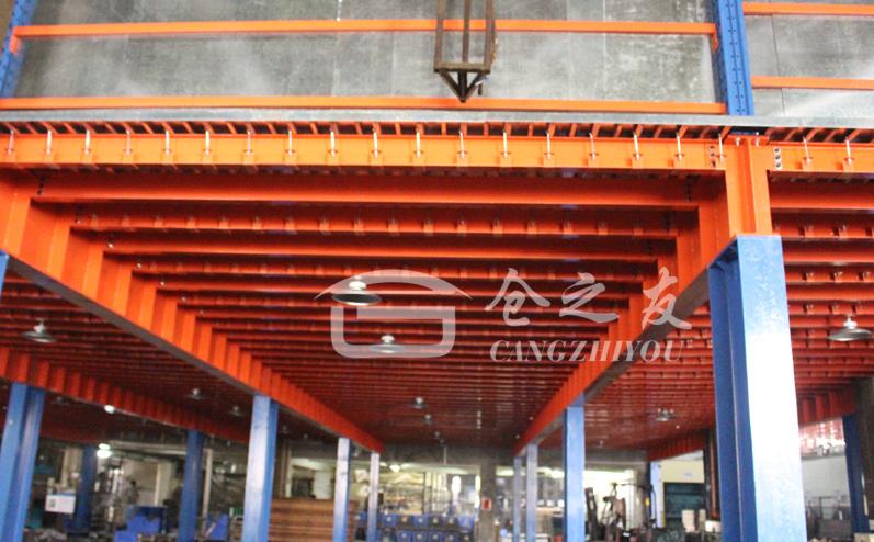 中山货架厂家直销三层阁楼平台组合式阁楼平台