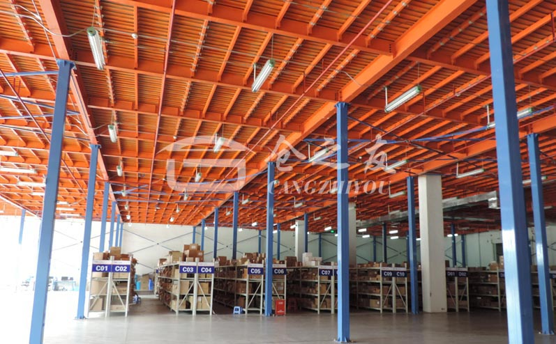 2019年钢结构最新平台的搭建过程|钢结构平台介绍