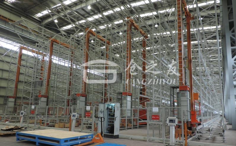 船舶航运行业-自动化立体仓库